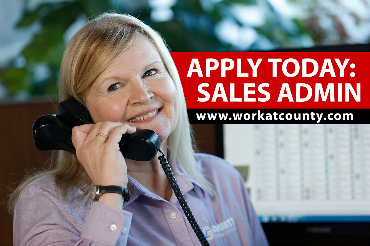 Apply Today: Sales Administrator Position
