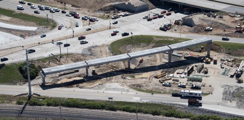 Concrete Girders by County Materials Help Meet Tight Deadline