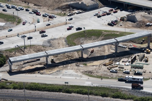 Concrete Girders by County Materials Help Meet Tight Deadline