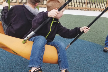 County Materials Supports Fun for All with Fully Accessible ADA Playground Donation