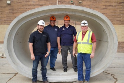 Local Leaders Tour Rib Falls, WI Facility for National Manufacturing Day