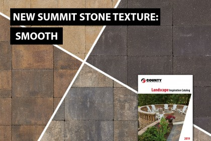 New Summit Stone® Landscape Units Texture: Smooth