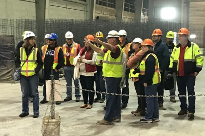 Storm Water Engineers Gain Valuable Knowledge During Tour at County Materials' Pipe Manufacturing Facility