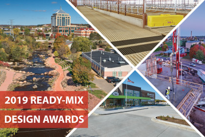 County Materials Leads the Way at the 2019 Ready-Mix Design Awards