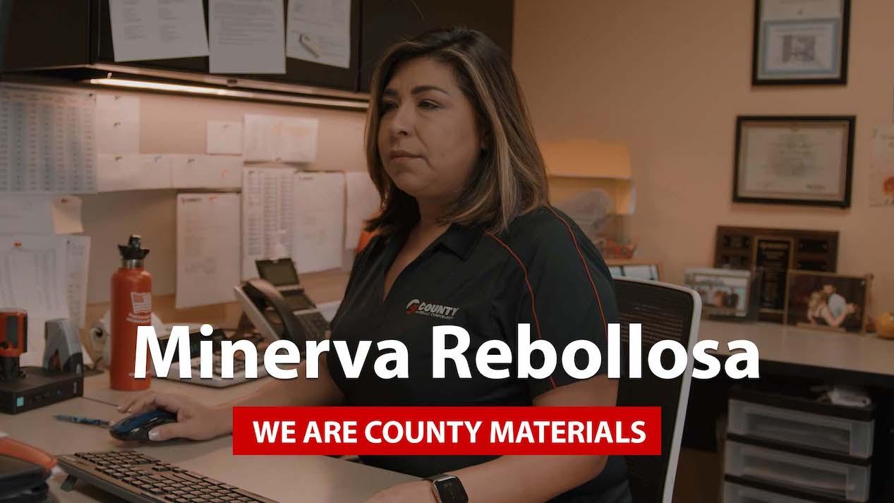 We Are County Materials – Minerva Rebollosa