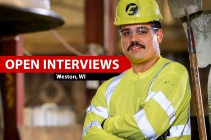 Open Interviews: Weston, WI