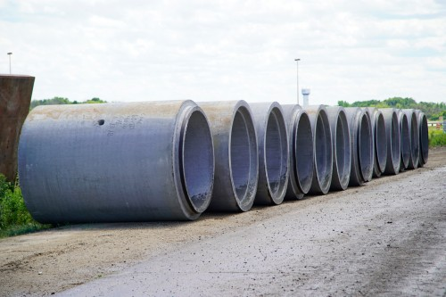 Reinforced Concrete Pipe Specified to Meet 100-Year Storm Event on $125 Million Mixed-Use Development