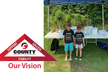 County Materials Participates in Central Wisconsin Contractor Association's Annual Golf Outing Fundraiser