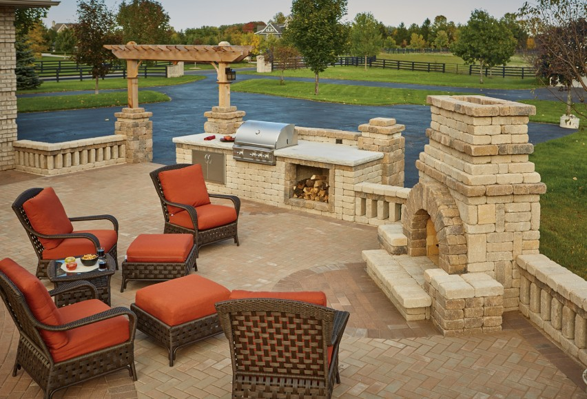 Summit Stone Transforms Decade Old Patio With Trending Hardscape Additions