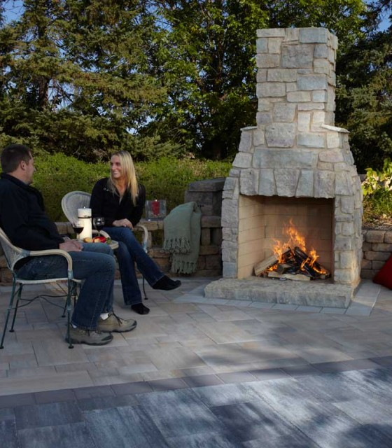 Outdoor Fireplaces, Fire Rings & Patio Living Products