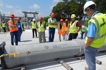 County Materials Raises Awareness During Concrete Pipe Week In Florida