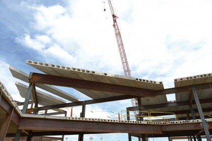 Precast Panels Save Time, Budget on Baldwin Medical Center Project