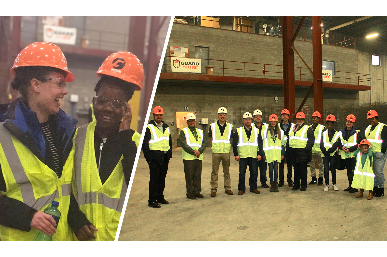 Big Brothers Big Sisters of Dane County 'Kids to Careers Program' Visits County Materials