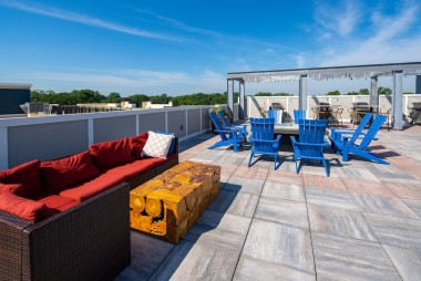 County Materials Skylands™ Concrete Deck Pavers Designed for Impressive, Functional, and Lasting Rooftop Spaces