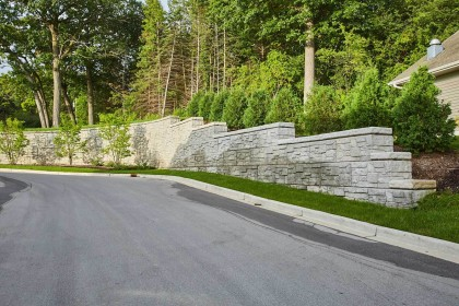 Rib Rock Landscape Block Provides Time and Costs Savings with Tightened Construction Schedule