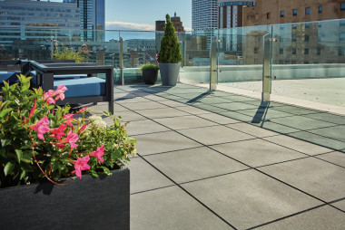 Milwaukee BMO Tower Utilizes Skylands™ Deck Pavers to Enhance Rooftop Space