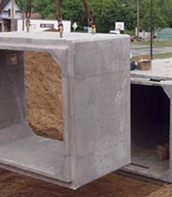 Concrete Box Culverts & Aprons
