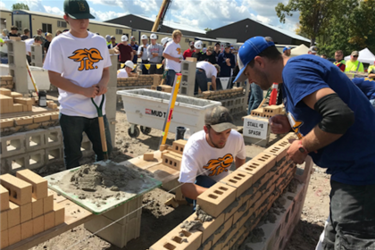 Masons in the Making: Wausau Area High School Students Explore Masonry