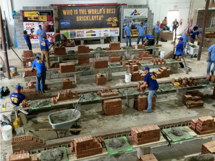 County Materials a Sponsor at SPEC MIX BRICKLAYER 500®
