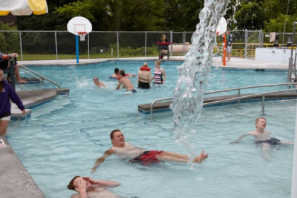 County Materials' Donation Helps Build Pool for Easter Seals Camp Wawbeek