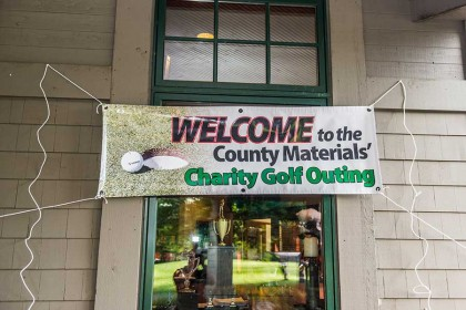 County Materials' Charity Golf Outing Raises Record Total