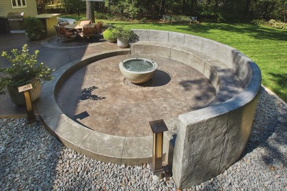 What is Colored and Stamped Concrete?