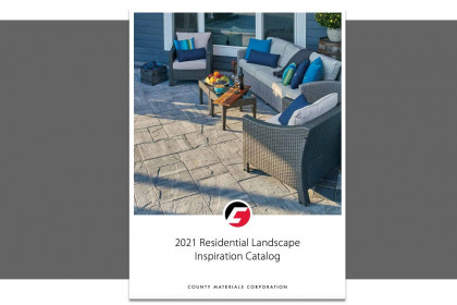 County Materials Announces New Products in 2021 Residential Landscape Inspiration Catalog