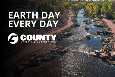 County Materials Celebrates Earth Day