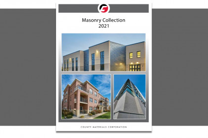 County Materials Releases 2021 Masonry Designer's Catalog