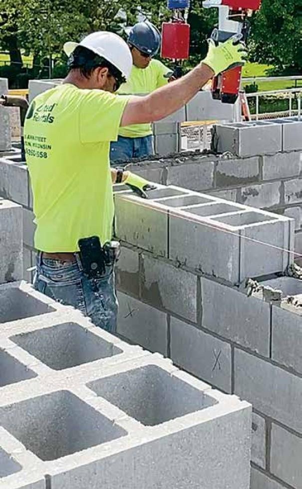 """Oversized 32"""" Concrete Masonry Unit"""