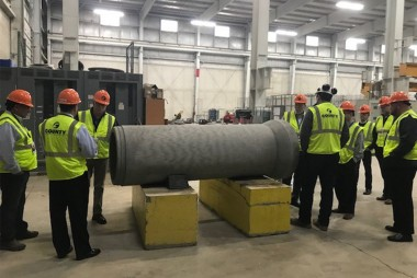 County Materials Welcomes US Congressman for Plant Tour and Industry Insight