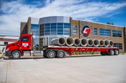 County Materials Corporation Begins Delivering Reinforced Concrete Pipe to Foxconn Site