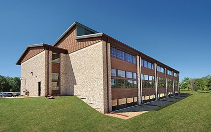 DNR Building Earns Gold from LEED Ratings