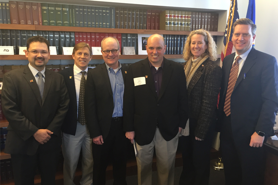 County Materials and Local Businesses Benefit from 2017 Business Day at the Capitol