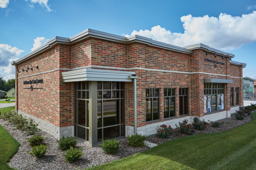 Concrete Masonry Meets Historic Design Requirements at a Cost-Effective Price