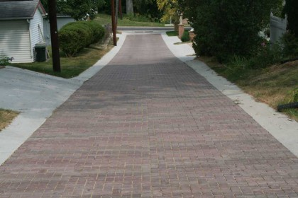 """Permeable Pavers """"Best Bang for the Buck"""" in Green Alley Reconstruction"""