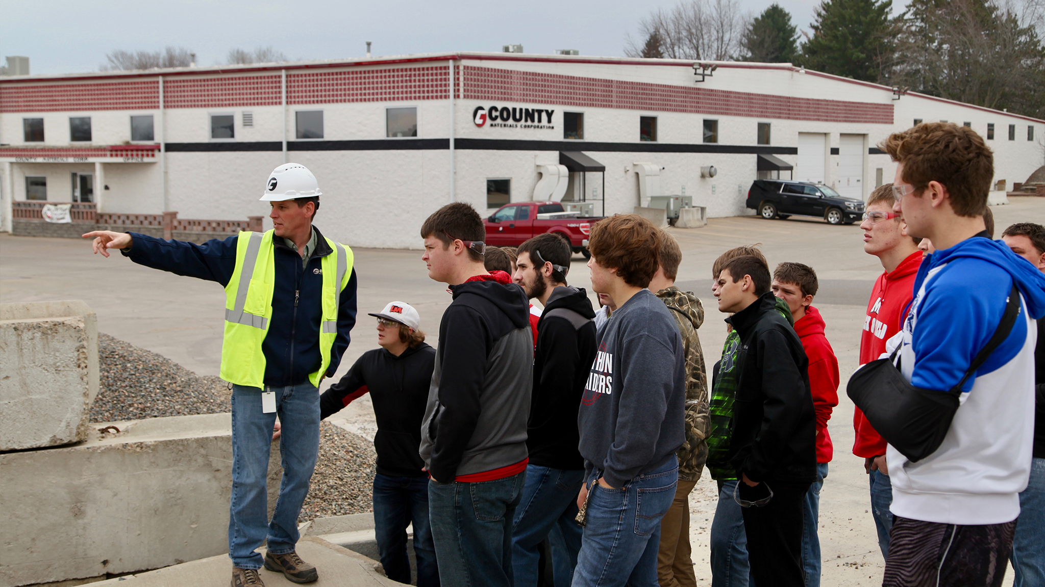 Marathon High School Construction Trades Class to Close the Skilled Labor Gap