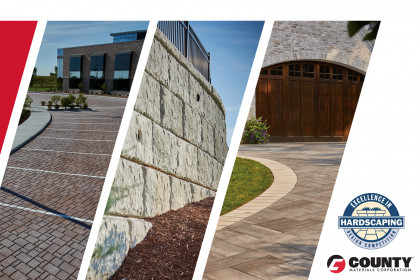 County Materials Recognized for Three 2018 Excellence in Hardscape Awards