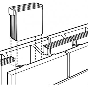 Concrete masonry units for Insulated concrete masonry units