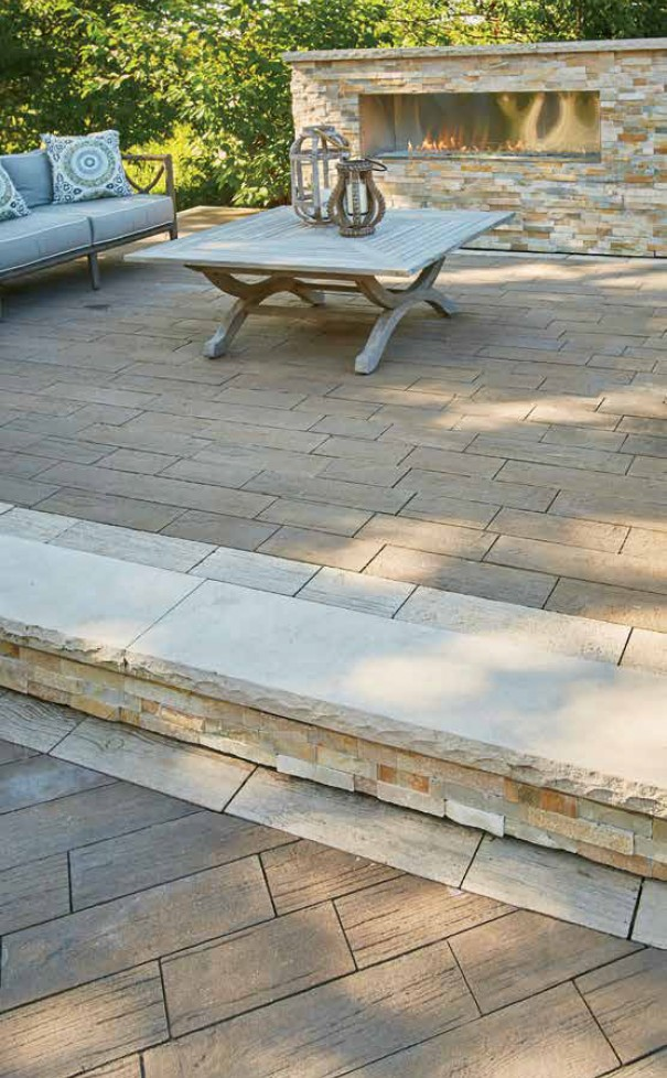 Essence™ Wood Plank Pavers