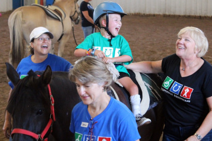 County Materials Supports Exceptional Equestrians' Equine Sensory Trail