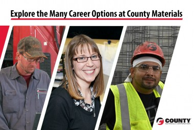 Explore the Many Career Options at County Materials