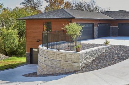Oversized Rib Rock™ Landscape Block Offers Ultimate Design Flexibility