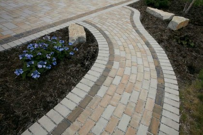 Permeable Pavers Earn National Acclaim in Residential Driveway Project