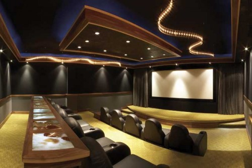 Private Residence with Home Theater