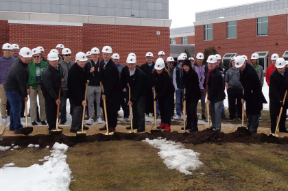 County Materials Donates Concrete Masonry for the Construction of Fond du Lac High School's Construction Career Academy