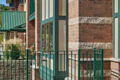 Heritage Collection Designer Concrete Brick Meets Design Goals for Senior Living Center