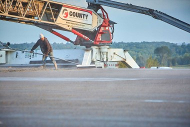 Ready-Mix Concrete Helps Local Growing Farm Meet Environmental Regulations