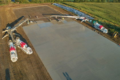 Ready-Mix Concrete Solutions Provide Many Benefits to Farms