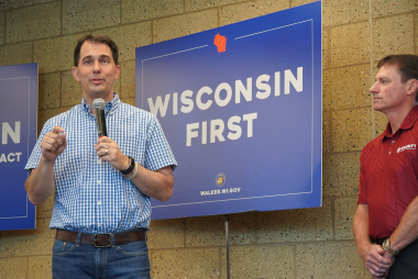 Governor Walker Thanks County Materials Corporation for Involvement in Foxconn Technology Group Construction Effort